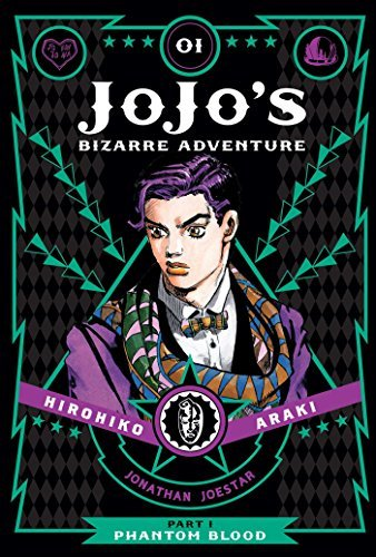 Hirohiko Araki Jojo's Bizarre Adventure Part 1 Volume 1 Phantom Blood Vol. 1 Part 1 Phantom Blood