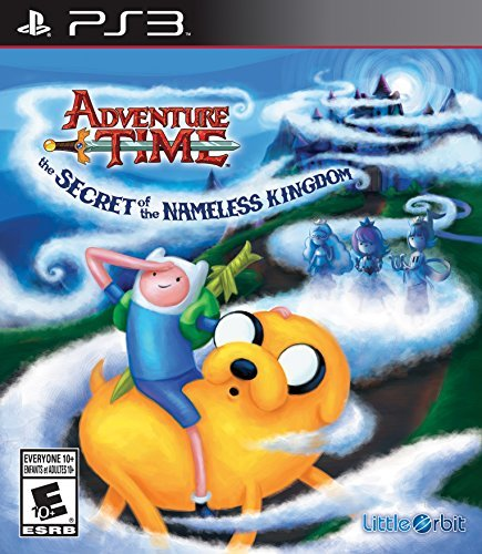 Ps3 Adventure Time The Secret Of The Nameless Kingdom