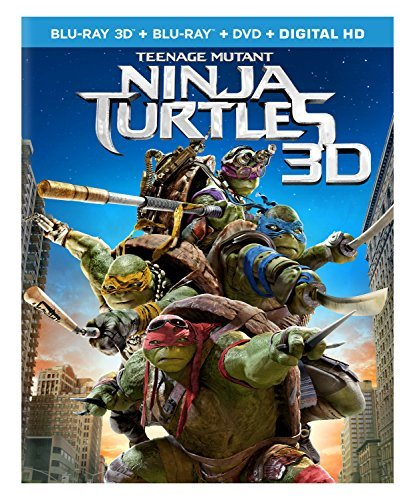 Teenage Mutant Ninja Turtles ( Teenage Mutant Ninja Turtles ( 3d Blu Ray DVD Dc