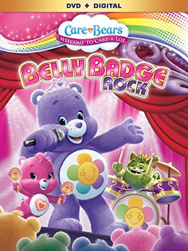 Care Bears Belly Badge Rock DVD Nr