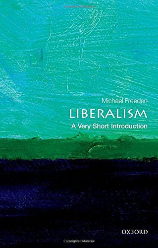 Michael Freeden Liberalism A Very Short Introduction
