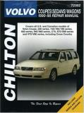 Chilton Automotive Books Volvo Coupes Sedans And Wagons 1990 98