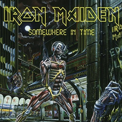 Iron Maiden Somewhere In Time Import Gbr