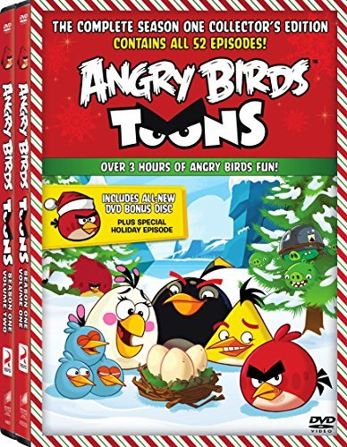 Angry Birds Toons Season 1 Volumes 1 & 2 DVD