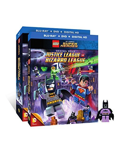 Lego Dc Comics Super Heroes Justice League Vs. Bizarro League Blu Ray