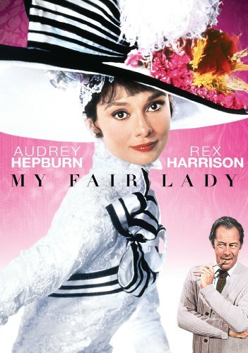 My Fair Lady Hepburn Harrison Holloway DVD G