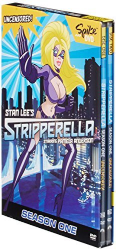Stripperella Season 1 DVD Unrated