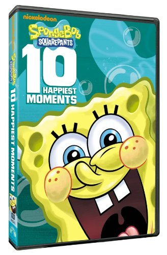 Spongebob Squarepants 10 Happiest Moments DVD Nr