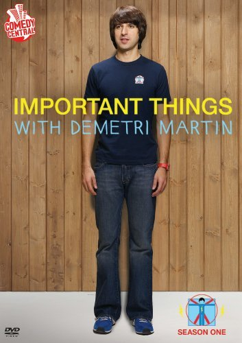 Important Things With Demetri Martin Season 1 Nr