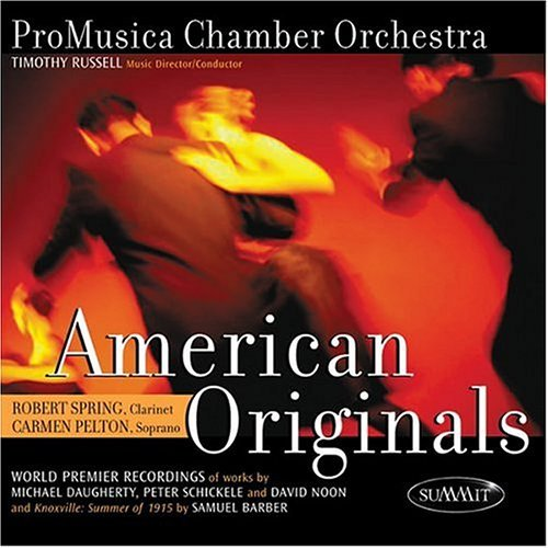 Promusica Chamber Orchestra American Originals Russell