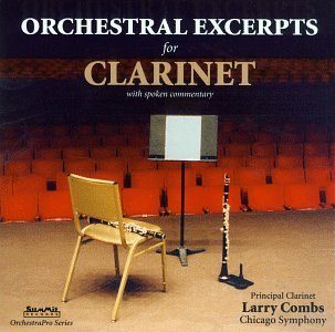 Larry Combs Orchestral Excerpts For Clin Combs (cl)