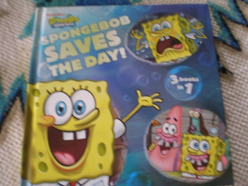 Spongebob Saves The Day 3 Books In 1