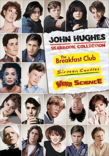 John Hughes Yearbook Collection Breakfast Club Sixteen Candles Weird Science DVD