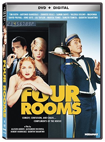 Four Rooms Roth Banderas Beals DVD R