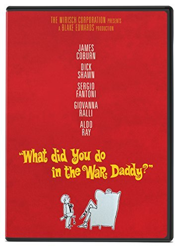 What Did You Do In The War Daddy? Coburn Shawn Fantoni DVD Nr