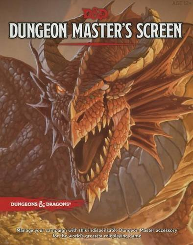 Wizards Rpg Team Deluxe Dm Screen Dungeons & Dragons