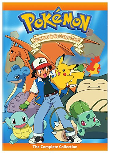 Pokemon Adventures In The Orange Islands Complete Collection DVD