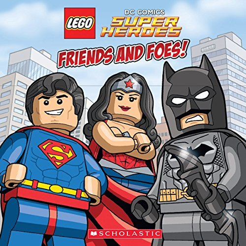 Trey King Friends And Foes! (lego Dc Super Heroes)
