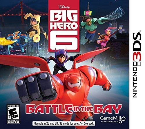 Nintendo 3ds Big Hero 6