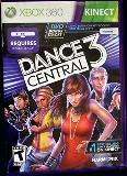 X360 Kinect Dance 3 Central