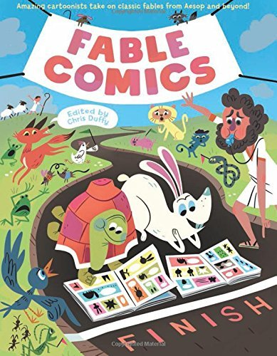 Various Authors Fable Comics Amazing Cartoonists Take On Classic Fables From A