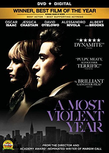 Most Violent Year Isaac Chastain Oyelowo Brooks DVD Dc R