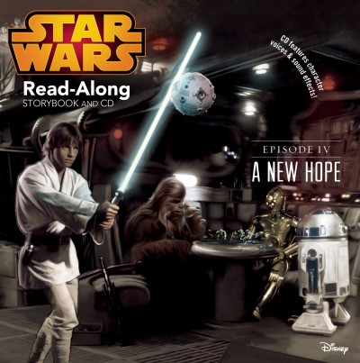 Disney Book Group Star Wars A New Hope Read Along Storybook And CD