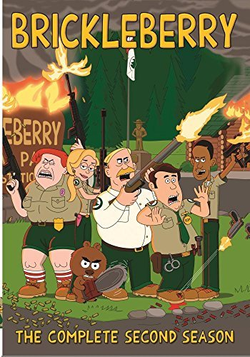 Brickleberry Season 2 DVD Mod This Item Is Made On Demand Could Take 2 3 Weeks For Delivery