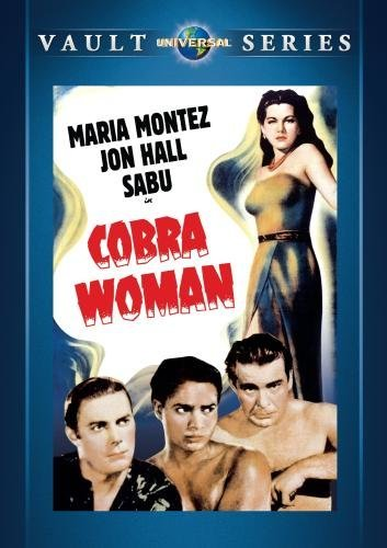 Cobra Woman Cobra Woman DVD Mod This Item Is Made On Demand Could Take 2 3 Weeks For Delivery