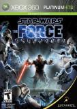 Xbox 360 Star Wars The Force Unleashed Disney Interactive Distri T