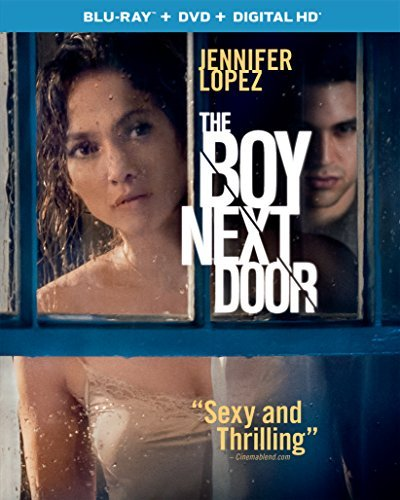 Boy Next Door Lopez Guzman Chenoweth Blu Ray DVD Dc R