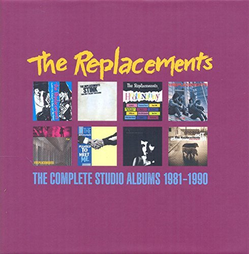 Replacements Complete Studio Albums 1981 1990 8 CD