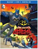 Batman Unlimited Animal Instincts Blu Ray DVD Dc Animal Instincts
