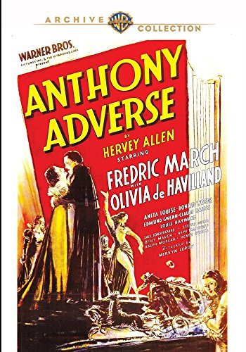 Anthony Adverse Anthony Adverse DVD Mod This Item Is Made On Demand Could Take 2 3 Weeks For Delivery