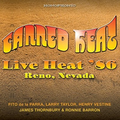 Canned Heat Live Heat 86 Reno Nevada