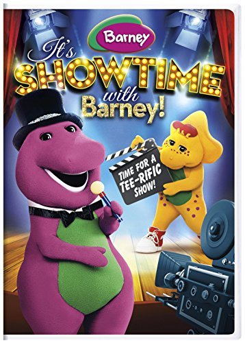 Barney It's Showtime With Barney! DVD