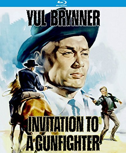 Invitation To A Gunfighter Brynner Segal Martin Hickey Rule Blu Ray Nr