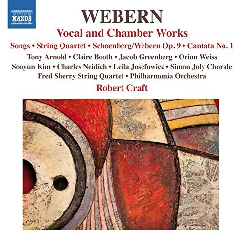 webern-arnold-philharmonia-vocal-chamber-works