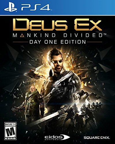 Ps4 Deus Ex Mankind Divided Deus Ex Mankind Divided