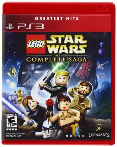 Ps3 Lego Star Wars Complete Saga Disney Interactive Distri E