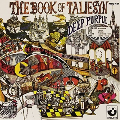 Deep Purple Book Of Taliesyn (white Vinyl) Import Ita