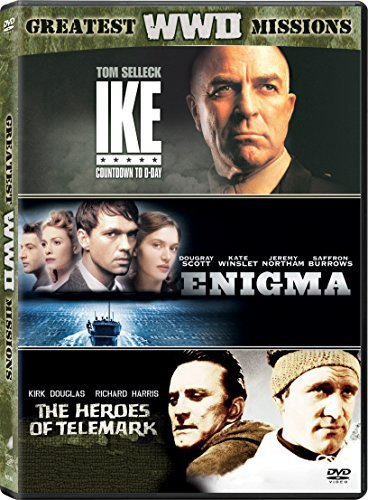 Enigma Ike Countdown To D Day Heroes Of Telemark Triple Feature DVD R