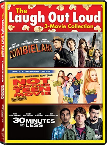 Zombieland 30 Minutes Or Less Not Another Teen Movie Triple Feature DVD