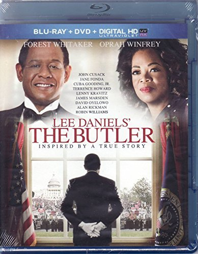 Butler Lee Daniels' The Butler Blu Ray DVD Ultraviolet In Whitaker Winfrey Howard