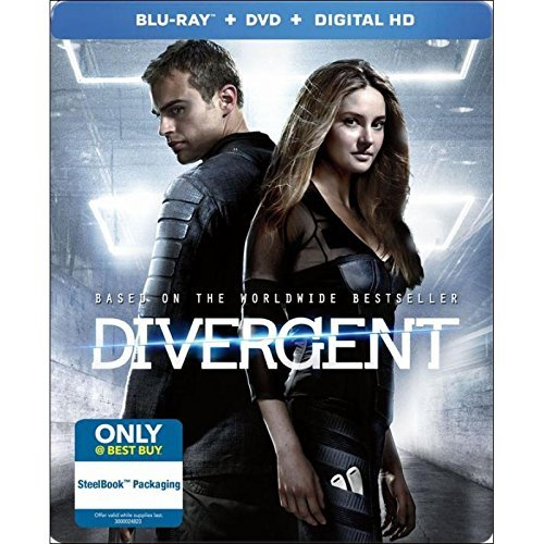 Divergent Woodley James Steelbook
