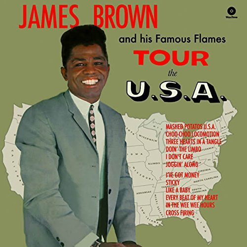 James Brown Tour The U.S.A Import Esp