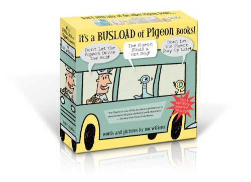 Mo Willems It's A Busload Of Pigeon Books! (new Isbn)