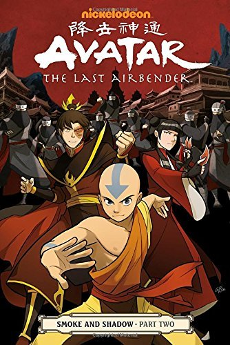Gene Yang Avatar The Last Airbender Smoke And Shadow Part Two