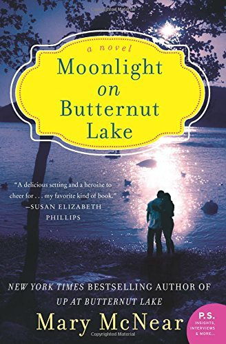 Mary Mcnear Moonlight On Butternut Lake