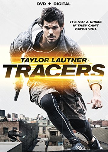 Tracers Lautner Rayner Avgeropoulos DVD Dc Pg13